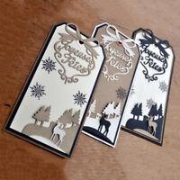 Deer tree Design Metal Cutting Dies For DIY Scrapbooking Card Paper Album KK