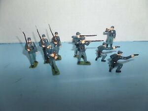 """MARX """"WARRIORS OF THE WORLD""""  -  UNION SOLDIERS 9 COUNT"""