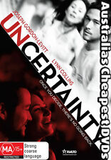 Uncertainty DVD NEW, FREE POSTAGE WITHIN AUSTRALIA REGION 4
