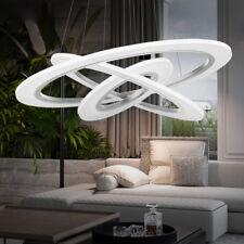70W LED Acryl Hängeleuchte Deckenlampe Pendelleuchte Lüster Kronleuchter 3 Ring