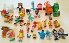 Lot Of 30+ Cartoon/Movie Figures Yogi, Smurfs, Bob Builder,+ Others 1981-2017