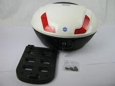Original Topcase 48 Liter Piaggio MP3 Sport weiß Farbcode 544 (ohne Klappträger)