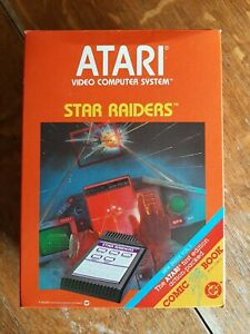 Star Raiders Atari 2600  New Old Store Stock Includes Video Touch Pad & DC Comic