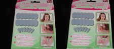 (2) Smooth Away Hair Removal 18 replacment pads each As Seen on TV