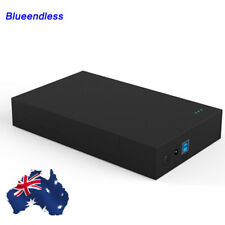 "USB 3.0 2.5""& 3.5"" External SATA HDD Enclosure External Case SSD Docking Station"