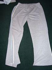 Pale Grey Reebok Cotton Sweatpants / Jogging Bottoms Size 14