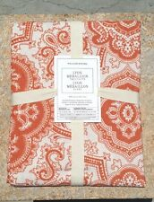 WILLIAMS SONOMA ~ LYON MEDALLION TABLECLOTH ~ IN ORANGE BUT I HAVE OTHER COLORS