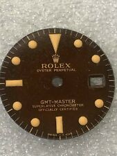Dial Glossy gilt Tropical Brown for Rolex GMT Master 1675-1960s ( Refinised )