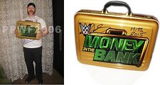 WWE SHEAMUS SIGNED MONEY IN THE BANK BRIEFCASE WITH EXACT PROOF COA