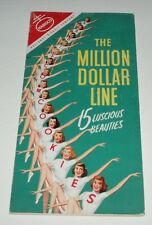 1950's Nabisco Cookies Pin-up Girls Pop Up Promo Booklet Advertising