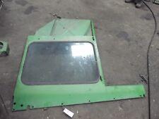 John Deere 4520 tractor left hand side glass & frame (DK) Part #205