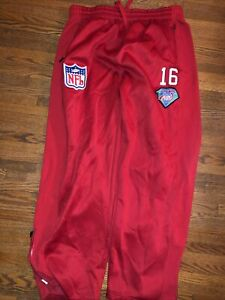 San Francisco 49ers Montana Mitchell and Ness Sweatpants 4XL Joggers 75th NFL