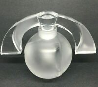 Lalique Crystal Eclipse Perfume Bottle Lalique Society of America 1994 Vintage