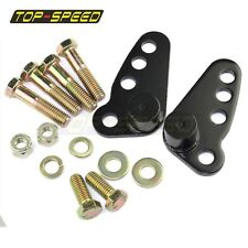 """1-3"""" Rear Adjustable Lowering Kit For Harley Electra Road Glide Touring 2002-15"""