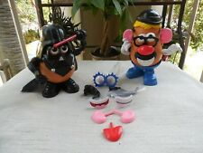 MR. POTATO HEAD LOT w/Darth Vader and Other Pieces - 30 Pieces - Alone Play Time