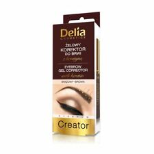 Delia Eyebrow Gel Corrector with Keratin Brown 7ml