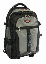 Large Rucksack Backpack Travel Hiking Sports Camping Biking Mountaineering Grey