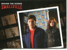 Smallville Seasons 7-10 Behind The Scenes Chase Card BTS4