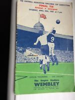 FA Cup Final Arsenal V Liverpool Saturday April 29th 1950 at the Empire Stadium