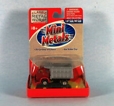 MINI METALS 1953 White 3000 Dump Truck (Red) 1/87 Scale Diecast Model NEW, RARE!