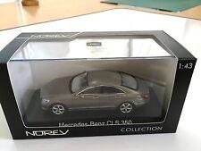 Mercedes-Benz CLS-Klasse CGI 2010 Gris metal - NOREV 1/43 VOITURE 351300