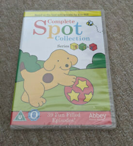 SPOT THE DOG - The Complete Collection Series 1 2 3 DVD - Spot - NEW AND SEALED