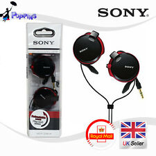 New Sony MDR-Q38LW Retractable Street Style Headphone (Black)