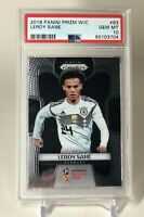 2018 Panini Prizm Soccer Russia World Cup #93 LEROY SANE Germany PSA GEM MINT 10