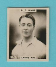RUGBY - PHILLIPS PINNACE - CARD NO.1075  -  BINKS  OF  LEEDS  N.U. - 1922