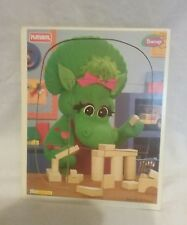 1996 Playskool baby bop 8 pc wood puzzle barney and friends