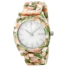 Nixon The Time Teller White Dial Multicolour Acetate Unisex Watch A3271539