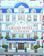 Usborne Sticker Book: Grand Hotel Dollhouse NEW Paperback