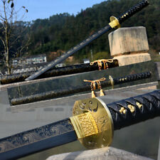 Dark Soul Warrior Battle Sword Hand Forged Carbon Steel Blade Battle ready #1333