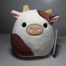 Squishmallow Ronnie Brown Cow Nwt Rare Easter 2021 5 Inch