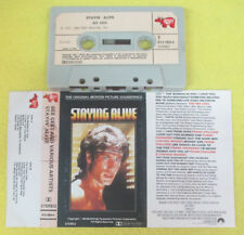 MC soundtrack STAYIN' ALIVE 1983 Bee Gees Frank Stallone Tommy Faragher no cd lp