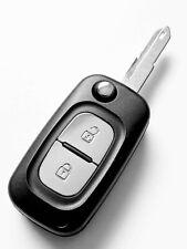 Fits Renault Clio Kangoo Megane Modus Twingo 2 Button Remote Key Fob Case