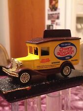YOU CAN GET PEPSI-COLA HERE Yellow PEPSI DELIVERY VAN Diecast Metal Car