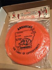 Vintage Whirly Flyer-Arkansas Razorbacks-Peter Bloeme World Frisbee Champion