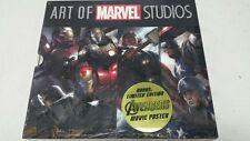 Art Of Marvel Studios HC Slipcase 4 Book Set Sealed Iron Man Thor Captain Americ