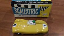 Jaguar Type D 1/32 Scalextric C60 Plus Box
