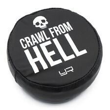 """1:10 RC Tyre tire cover for 1.9 Crawler wheels - """"Crawl fr Hell"""" may suit Axial"""