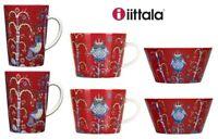 Iittala Taika Rouge Porcelaine Tasses, tasses, Bols ou Plats