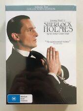 Sherlock Holmes : Volume 2 - Jeremy Brett (DVD, 3-Disc) Region 4 - NEW & SEALED
