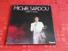 COFFRET MICHEL SARDOU / 33 TOURS