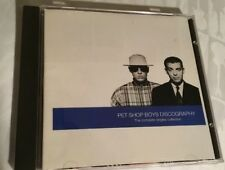 Discography: The Complete Singles Collection by Pet Shop Boys (CD, Nov-1991, EM…