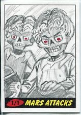 Mars Attacks Heritage Sketch Card By Don Perlin
