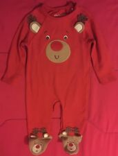 Gorgeous F&F Boys/ Girls Reindeer Baby Grow. O-3 months. New without Tags.