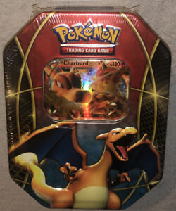 Charizard EX Collectors Pokémon Tin Sealed