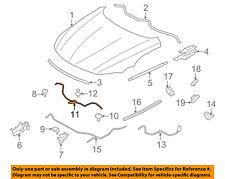 BMW OEM 09-16 Z4 Hood-Safety Catch Latch Lock 51237191529