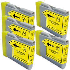 5 YELLOW Replacement Ink for Brother LC51 AIO MFC 230C 240C 440CN 465CN 3360C